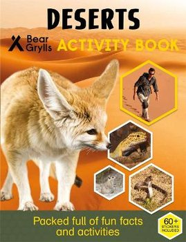 Bear Grylls Sticker Activity: Desert - Grylls Bear