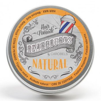 Beardburys, Natural, pomada z połyskiem, 100 ml-Beardburys