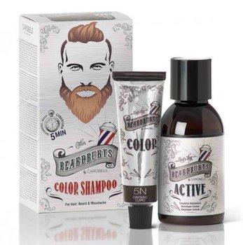 Beardburys, szampon koloryzujący 5N Jasny Brąz, 9 g-Beardburys