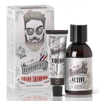 Beardburys, szampon koloryzujący 9G Szary, 9 g-Beardburys