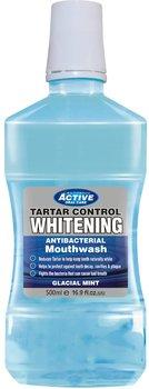 Beauty Formulas, Active Oral Care, płyn do płukania jamy ustnej Whitening, 500 ml-Beauty Formulas