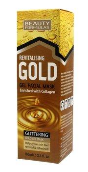Beauty Formulas, Gold, maseczka rewitalizująca na twarz, 100 ml-Beauty Formulas