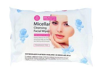 Beauty Formulas, Micellar Cleansing, chusteczki micelarne do demakijażu, 25 szt.-Beauty Formulas