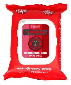 Beauty Formulas, Natures Formulas, chusteczki do oczyszczania twarzy stymulujące, 30 szt.-Beauty Formulas