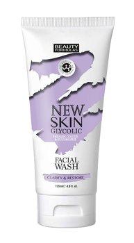 Beauty Formulas, New Skin Glycolic, żel do mycia twarzy z kwasem glikolowym, 150 ml-Beauty Formulas