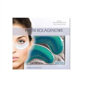 BeautyFace, płatki kolagenowe pod oczy z algami morskimi i ekstraktem ogórka-BeautyFace