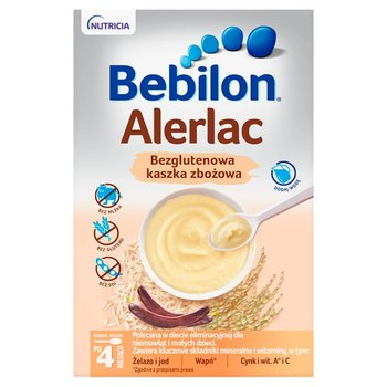 Bebilon, Alerlac, Bezglutenowa kaszka zbożowa, 400 g-Bebilon