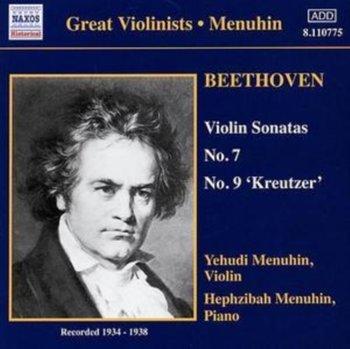 Beethoven - Violin Sonatas Nos 7 and 9; Schubert - Rondo, Op 70-Menuhin Yehudi