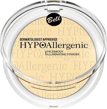 Bell, HypoAllergenic Face&Body Illuminating Powder, puder rozświetlający do twarzy i ciała 02, 6 g-Bell