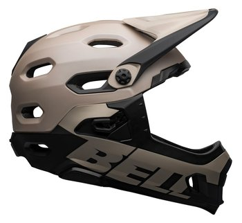 Bell, Kask full face, Super DH MIPS Spherical, beżowo-czarny, rozmiar L-Bell