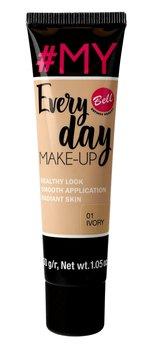 Bell, #My Everyday Make-Up, podkład wyrównujący koloryt 01 Ivory, 30 g-Bell