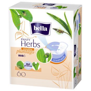 Bella, Panty Herbs Sensitive Plantago, wkładki higieniczne, 60 szt.-Bella