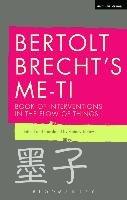 Bertolt Brecht's Me-ti-Brecht Bertolt