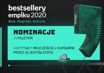 Bestsellery Empiku 2020 – muzyczne nominacje do nagrody