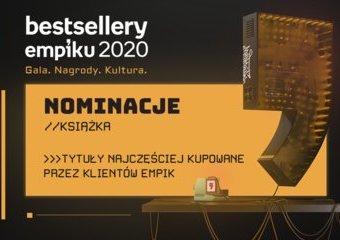 Bestsellery Empiku 2020 – nominacje. Książki i audiobooki