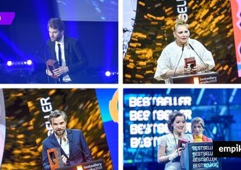 Bestsellery Empiku 2020 rozdane! Sprawdź kto dostał nagrodę
