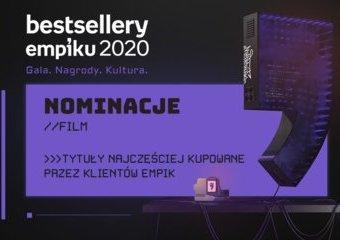 Bestsellery Empiku 2020 – znamy nominowanych w kategorii filmowej