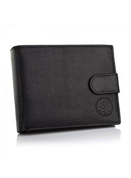 Betlewski BPM-GTN-60, portfel męski, skórzany, czarny-Betlewski