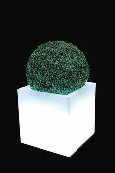 Biała donica z oświetleniem MONUMO Pixel Pot, biała-Monumo