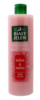Biały Jeleń, Owoc i Zioło, płyn do kąpieli Kalina & Melisa, 400 ml-Biały Jeleń