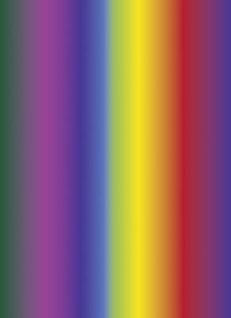 Bibuła dekoracyjna, kolory tęczy