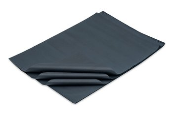 Bibuła gładka 50x70cm czarna - 100 arkuszy