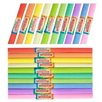 Bibuła marszczona, 10 kolorów