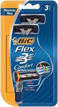 Bic, Flex 03 Comfort, maszynka do golenia, 3 szt.-Bic