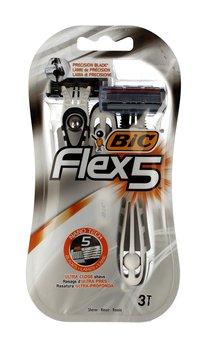 Bic, Flex 5, maszynka do golenia, 3 szt.-Bic