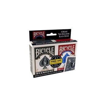 Bicycle, karty do gry Rider Back 4-pak