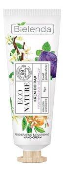 Bielenda, Eco Nature, krem do rąk regenerująco-odżywczy Mleczko waniliowe & Figa & Kwiat pomarańczy, 50 ml-Bielenda