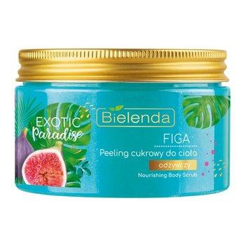 Bielenda, Exotic Paradise, odżywczy peeling cukrowy do ciała Figa, 350 g-Bielenda