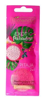 Bielenda, Exotic Paradise, ujędrniający żel peelingujący do ciała 2w1 Pitaja, 25 g-Bielenda