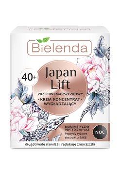 Bielenda, Japan Lift 40+, wygładzający krem-koncentrat przeciwzmarszczkowy na noc, 50 ml-Bielenda