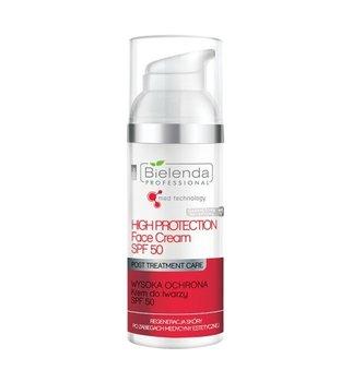 Bielenda Professional, krem do twarzy po zabiegach medycyny estetycznej, SPF50, 50 ml-Bielenda