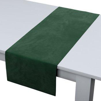 Bieżnik prostokątny DEKORIA Velvet, zielony, 40x130 cm-Dekoria