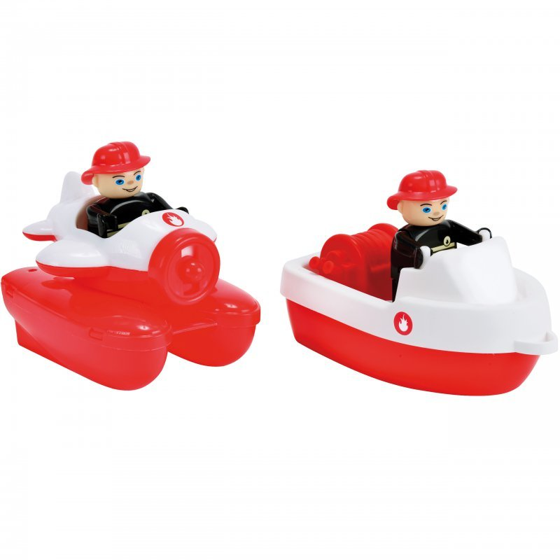 Big, zabawki do kapieli Łódki Straż Waterplay - Big