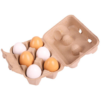 Bigjigs Toys, jajka w opakowaniu-Bigjigs