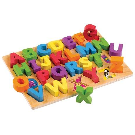 Bigjigs Toys, puzzle alfabet dla dzieci ABC - Bigjigs Toys
