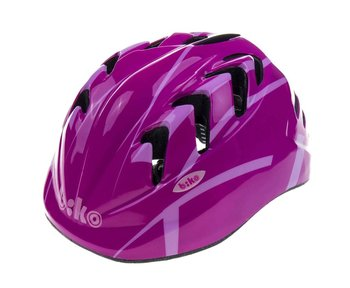 Biko, Kask rowerowy, Kid Pro HM-BI203-1, różowy, rozmiar S-Biko