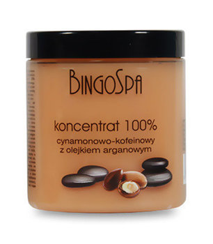 BingoSpa, koncentrat 100% cynamonowo-kofeinowy z olejkiem arganowym, 250 g-BingoSpa