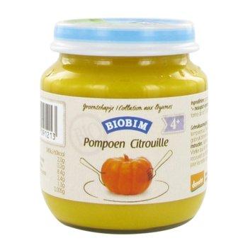 Biobim, Ekologiczny obiadek warzywny, Puree z dyni, Bio, 125 g-Biobim