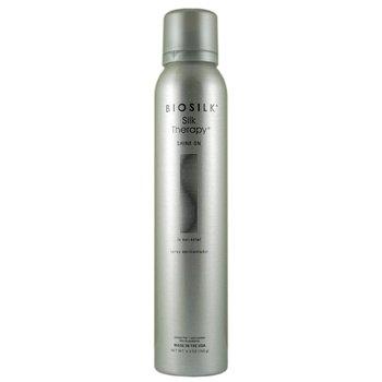 BioSilk, Silk Therapy, nabłyszczacz z odżywką 2w1 Shine On, 150 ml-Biosilk
