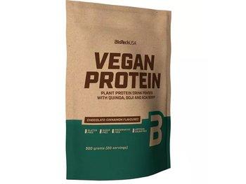BioTech, Suplement diety, Vegan Protein, czekolada-cynamon, 500 g-BioTech