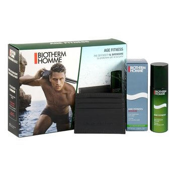 Biotherm, Homme, przeciwstarzeniowy krem do twarzy, 50 ml + etui na karty-Biotherm