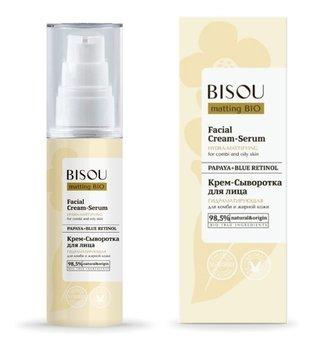 Bisou, krem-serum do twarzy nawilżająco - matujący do skóry mieszanej i tłustej, 50 ml-Bisou