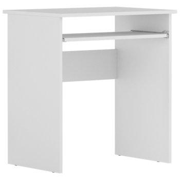 Biurko białe komputerowe nowoczesne Luna-JANA