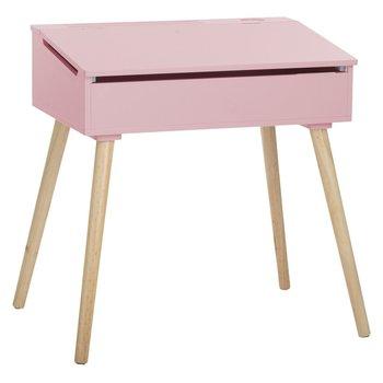 Biurko dziecięce Atmosphera for Kids, 64 x 45 cm, różowe-Atmosphera for kids