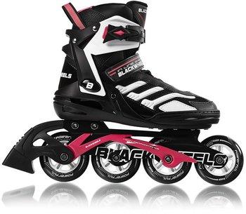 Blackwheels, Rolki Pink, czarno-różowy, rozmiar 39-Blackwheels