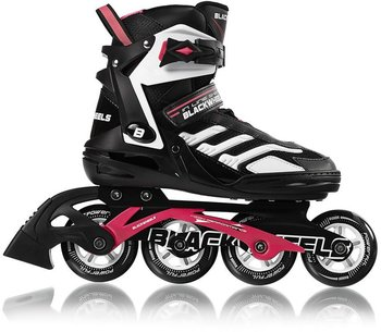 Blackwheels, Rolki Pink, czarno-różowy, rozmiar 42-Blackwheels